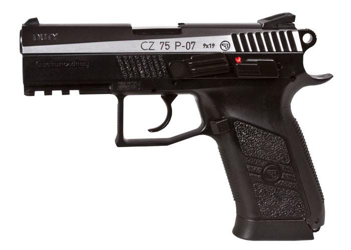 CZ 75 P-07 Duty Dual-Tone CO2 Pistol 0.177