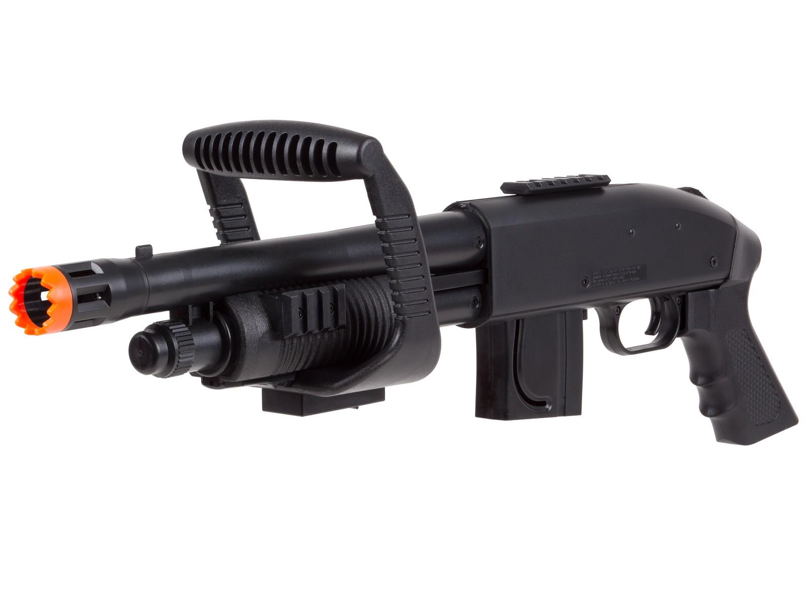 Mossberg_590_Chainsaw_Spring_Airsoft_Shotgun_6mm