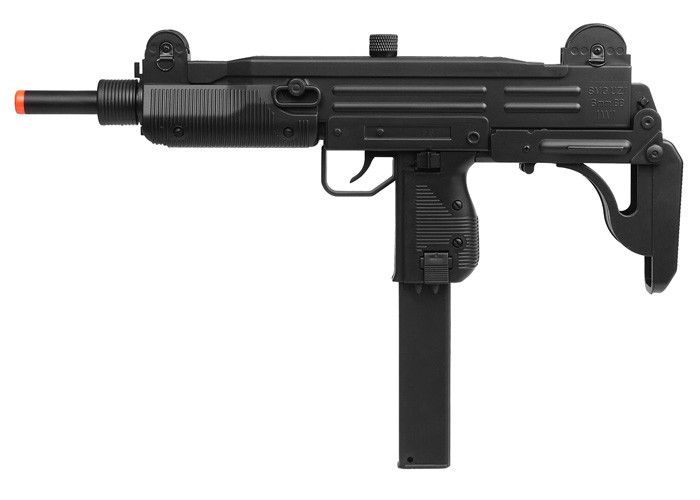 UZI AEG Carbine Airsoft SMG, Black 6mm Image