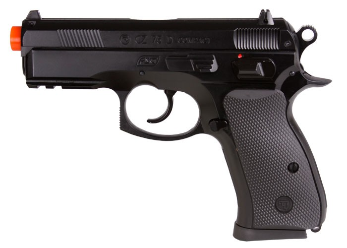 Cheap ASG CZ 75D Compact Spring Airsoft Pistol  6mm