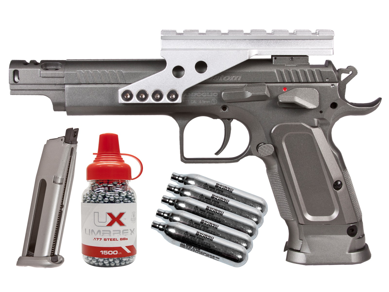Cheap Tanfoglio Gold Custom CO2 Metal Pistol Kit 0.177