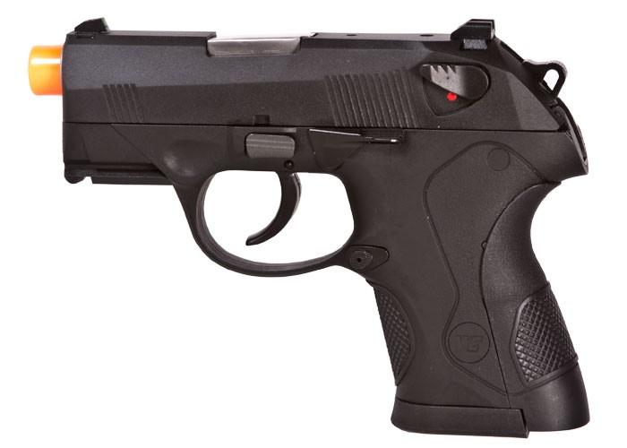 WE Bulldog Black Metal GBB Compact Airsoft Pistol