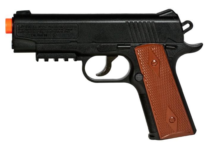 Crosman Air Mag 1911 CO2 Semi-Auto Airsoft Pistol