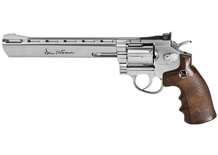 Cheap Dan Wesson CO2 BB Revolver, Silver, 8″ 0.177