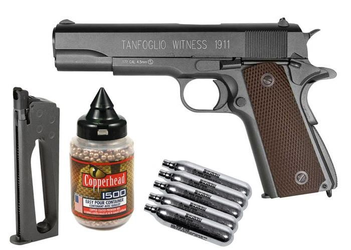 Cheap Tanfoglio Witness 1911 CO2 BB Pistol Kit 0.177