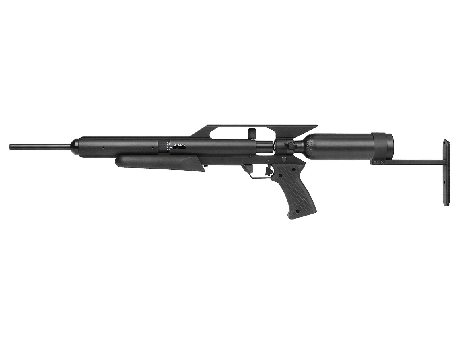 AirForce EscapeUL Air Rifle, Spin-Loc Tank