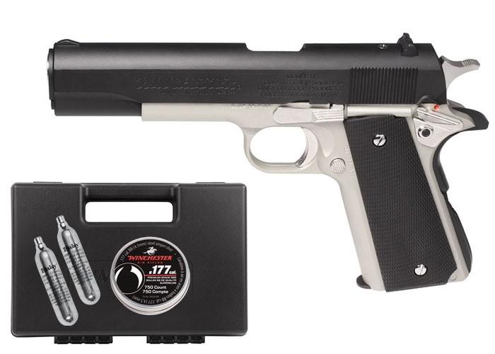 Winchester Model 11K CO2 Blowback BB Pistol Kit 0.177 Image