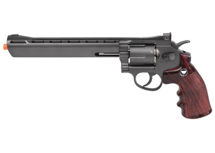 TSD Sport 703 Series CO2 Airsoft Revolver, Black