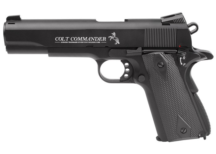 Cheap Colt Commander CO2 Pistol 0.177