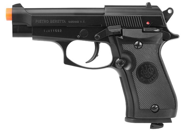 Beretta M84 FS CO2 Blowback Metal Airsoft Pistol 6mm Image