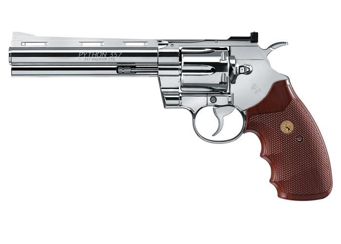 Colt Python CO2 Revolver, Chrome