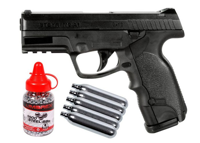 Cheap Steyr M9-A1 CO2 BB Pistol Kit 0.177