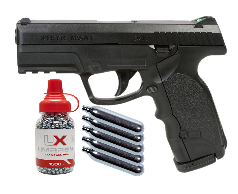 Steyr M9-A1 CO2 BB Pistol Kit 0.177