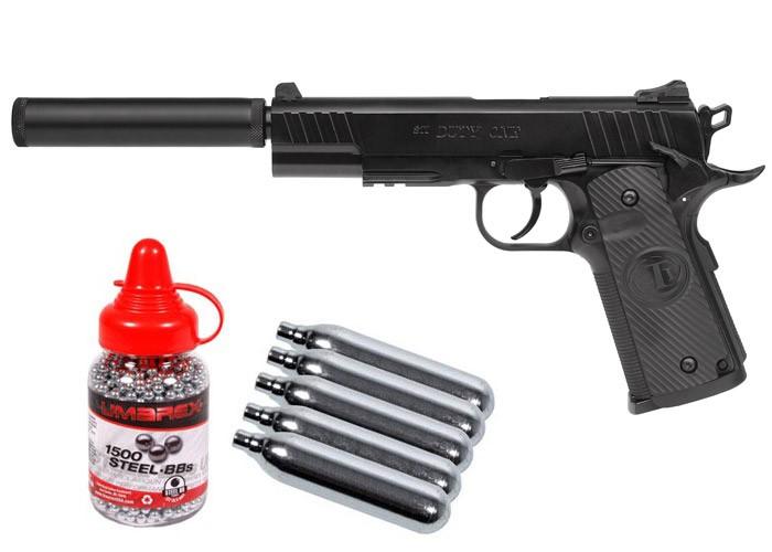 Cheap STI Duty One CO2 BB Pistol Kit 0.177