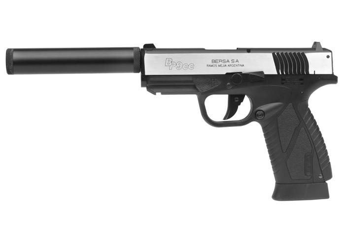 Bersa BP9CC CO2 Dual-Tone BB Pistol Kit