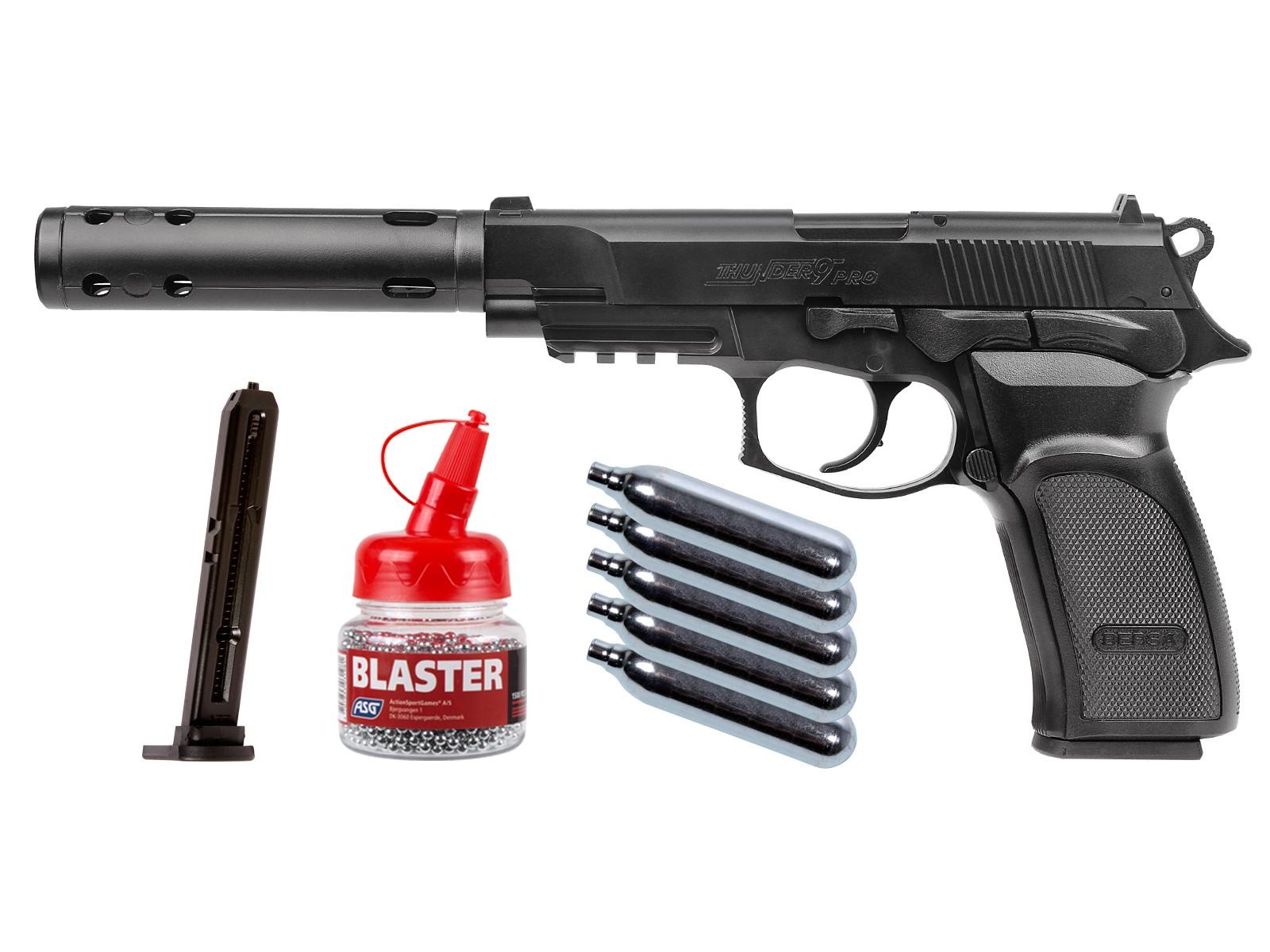 Bersa Thunder 9 PRO BB Pistol Kit 0.177
