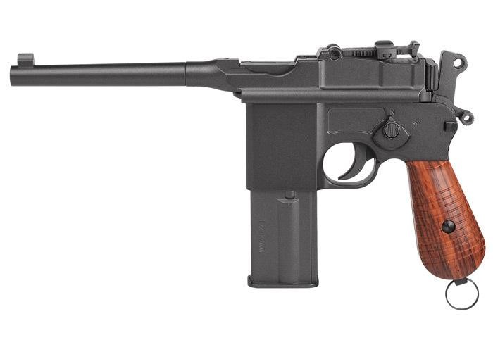 Legends M712 Full-Auto CO2 BB Pistol, Full Metal 0.177
