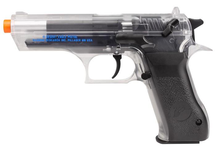 Baby Desert Eagle 941 CO2 Airsoft Gun, Clear