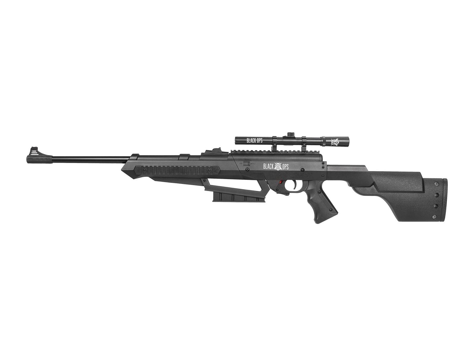 Black Ops Junior Sniper Air Rifle Combo - 0.177 cal - Multi-Pump 4x15 Scope BBs | eBay