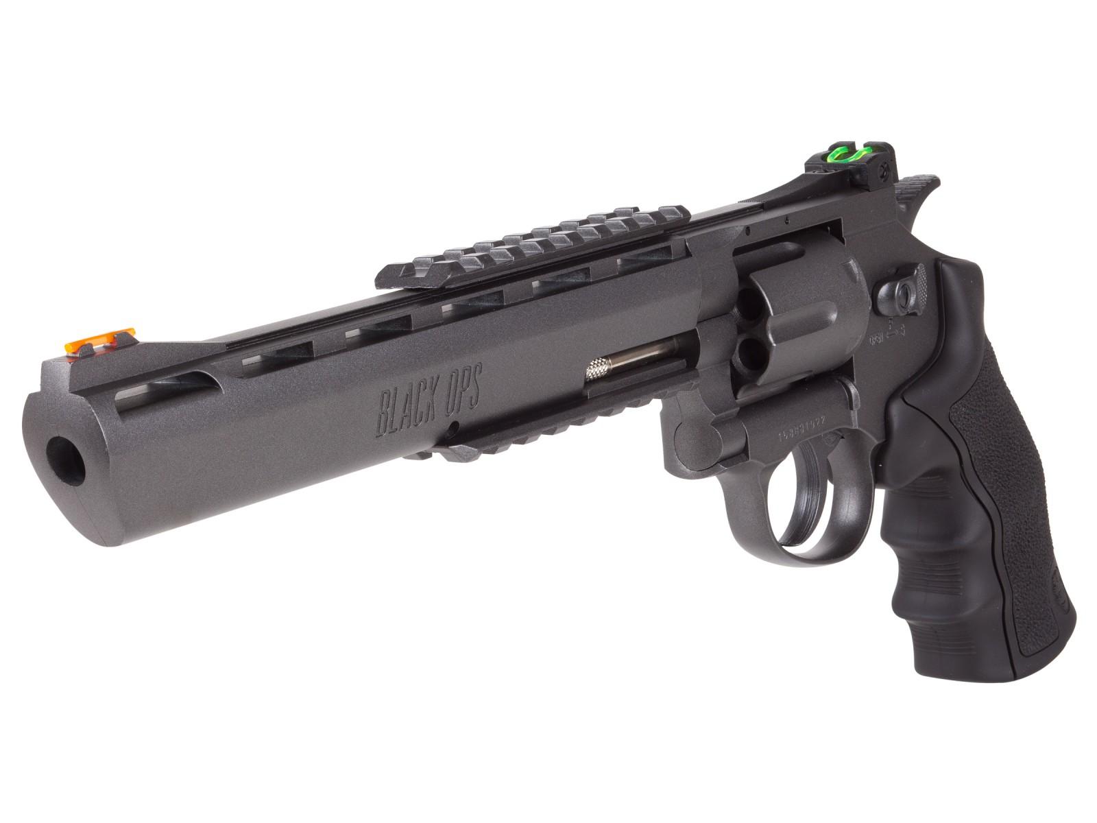 black ops exterminator co2 bb revolver air guns