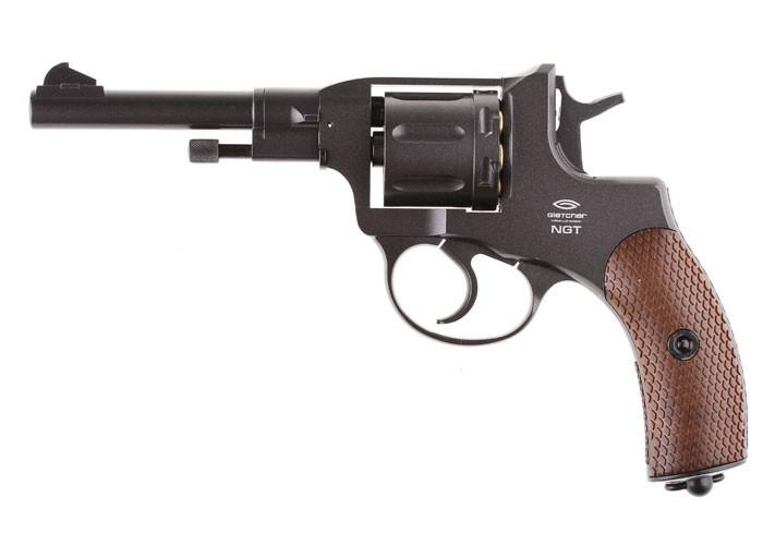 Gletcher NGT F CO2 BB Revolver, Black 0.177 Image