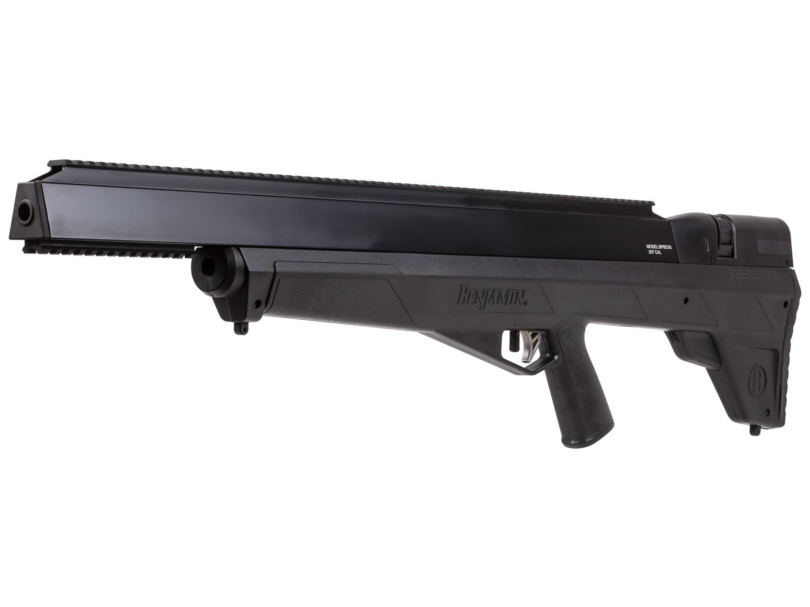 Benjamin Bulldog 357 Bullpup Shrouded Air Rifle Pyramyd Air