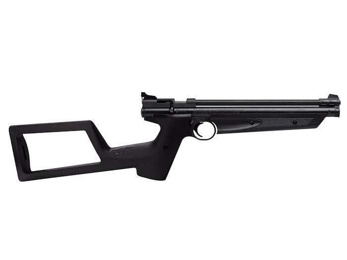 Crosman P1322 With Shoulder Stock, Black 0.22 Image