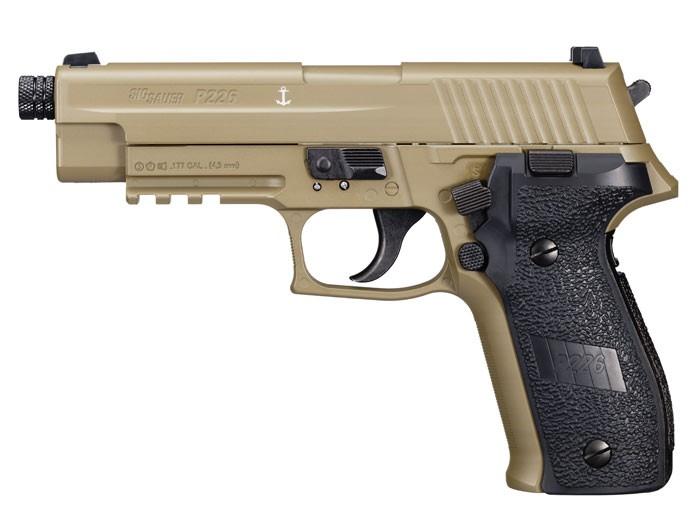 SIG Sauer P226 CO2 Pellet Pistol, Flat Dark Earth 0.177 Image