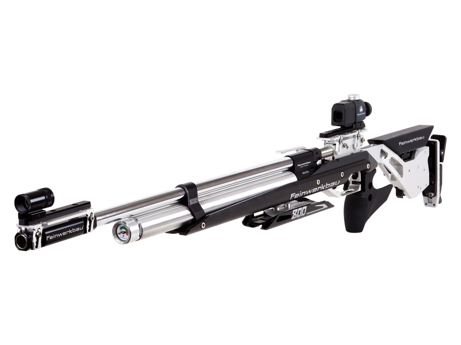 Feinwerkbau 800 ALU Air Rifle, Black