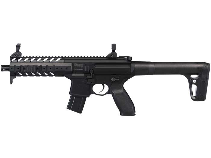 SIG Sauer MPX CO2 Rifle, Black