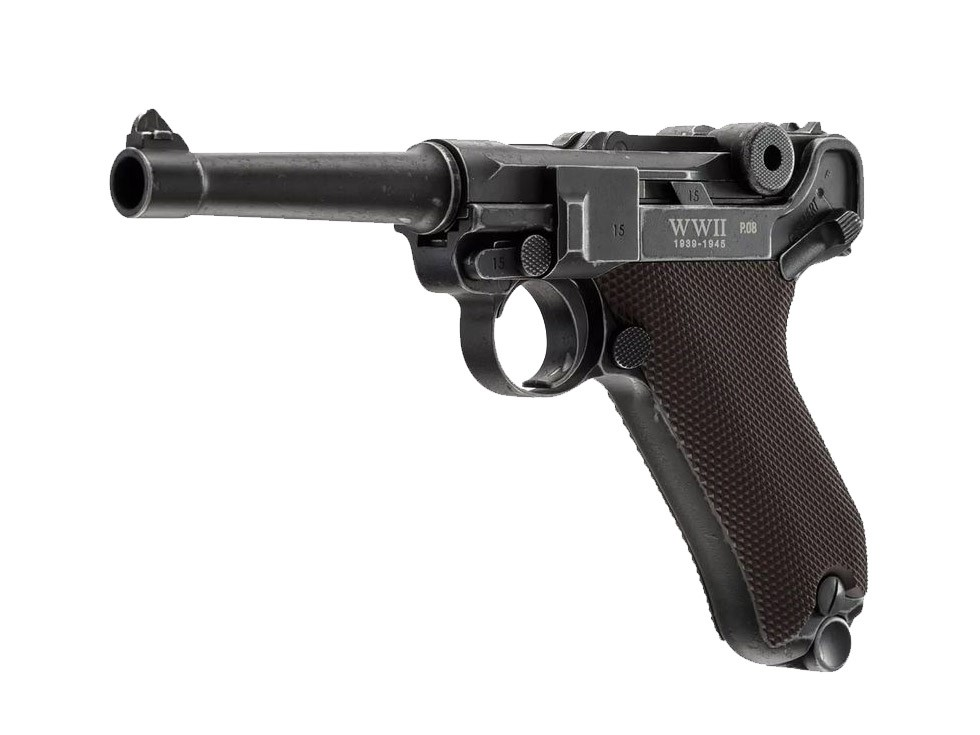 WWII Limited Edition P08 CO2 Pistol, Full Metal