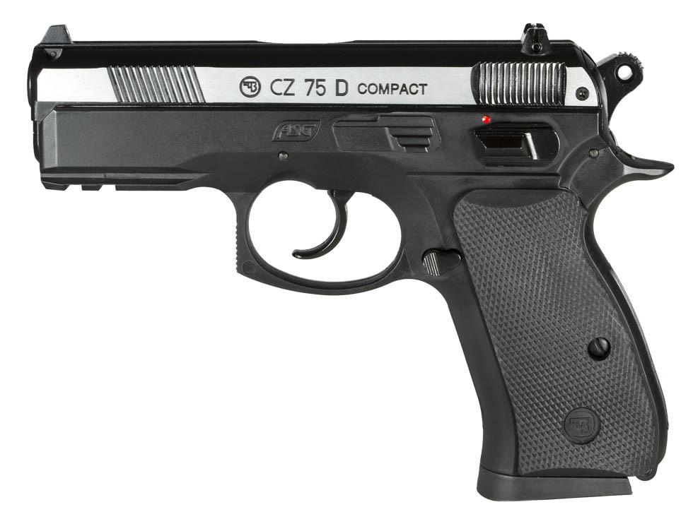 CZ 75D Compact CO2 BB Pistol, Dual-Tone
