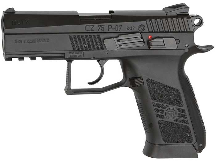 CZ 75 P-07 Duty CO2 BB Pistol 0.177