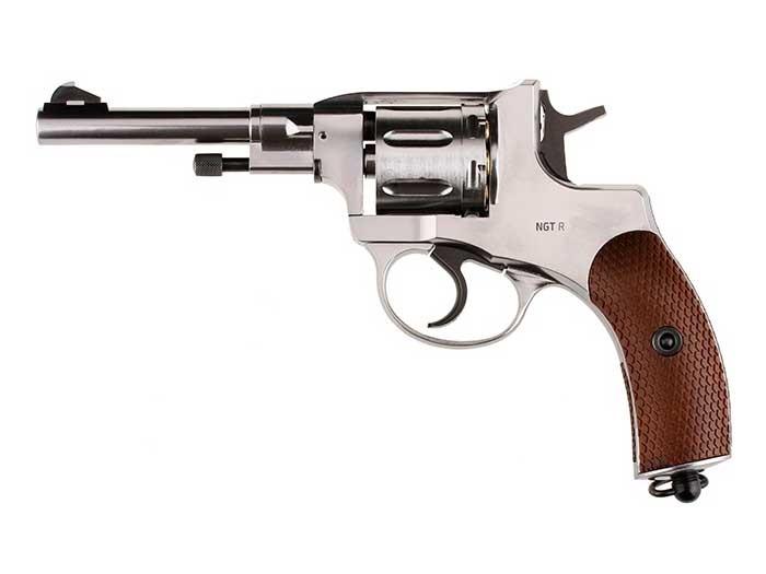Cheap Gletcher NGT CO2 Pellet Revolver, Silver 0.177