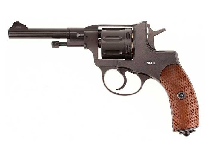 Cheap Gletcher NGT RF CO2 Pellet Revolver, Black 0.177
