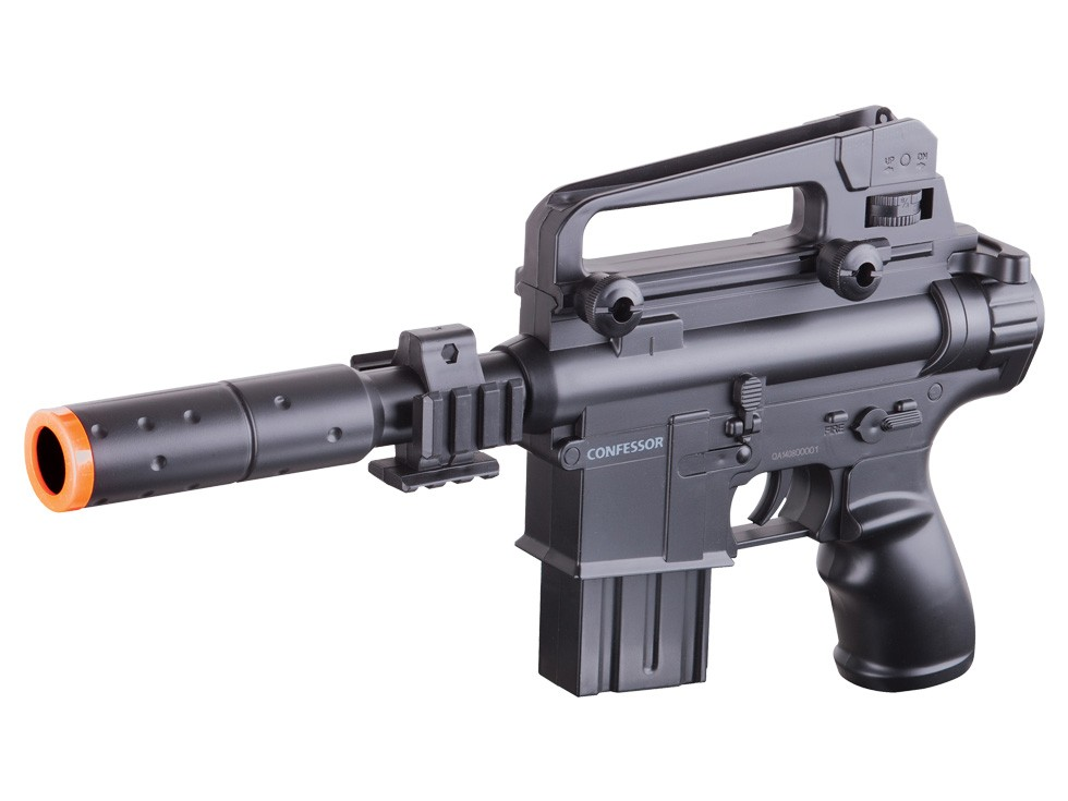 Crosman Sector 11 Confessor Airsoft Gun, Black. Airsoft guns