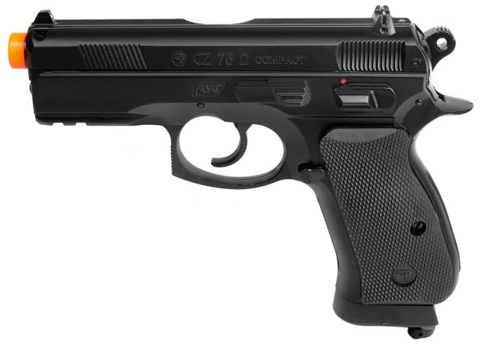 ASG CZ 75D CO2 Compact Airsoft Pistol 6mm