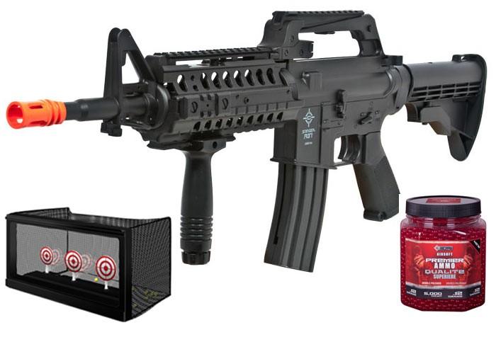 Crosman Stinger R37 Tact Spring Airsoft Rifle Kit