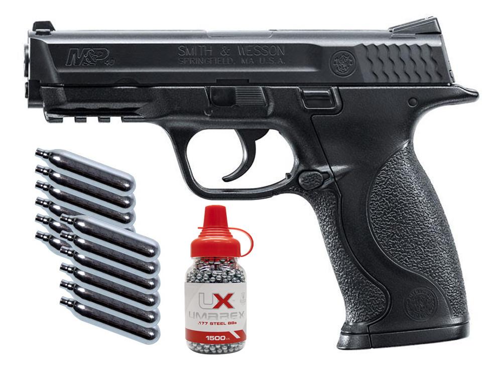 Smith & Wesson M&P Pistol Kit, Black