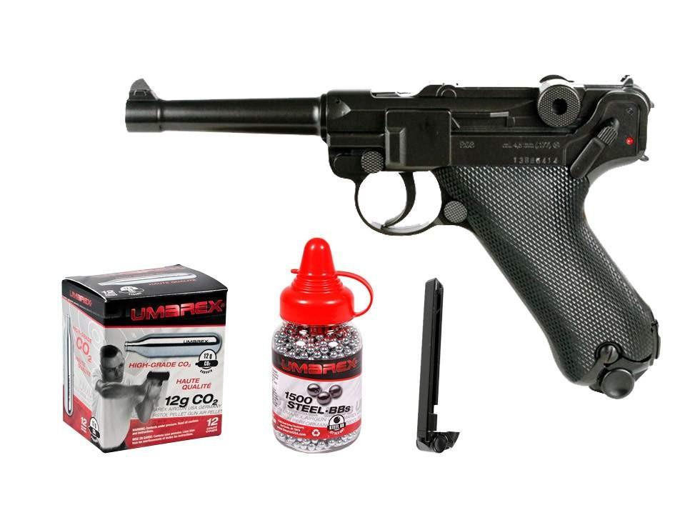 Cheap Legends P08 CO2 Pistol Kit 0.177