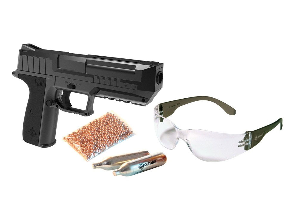 Crosman P15B CO2 BB Pistol Kit