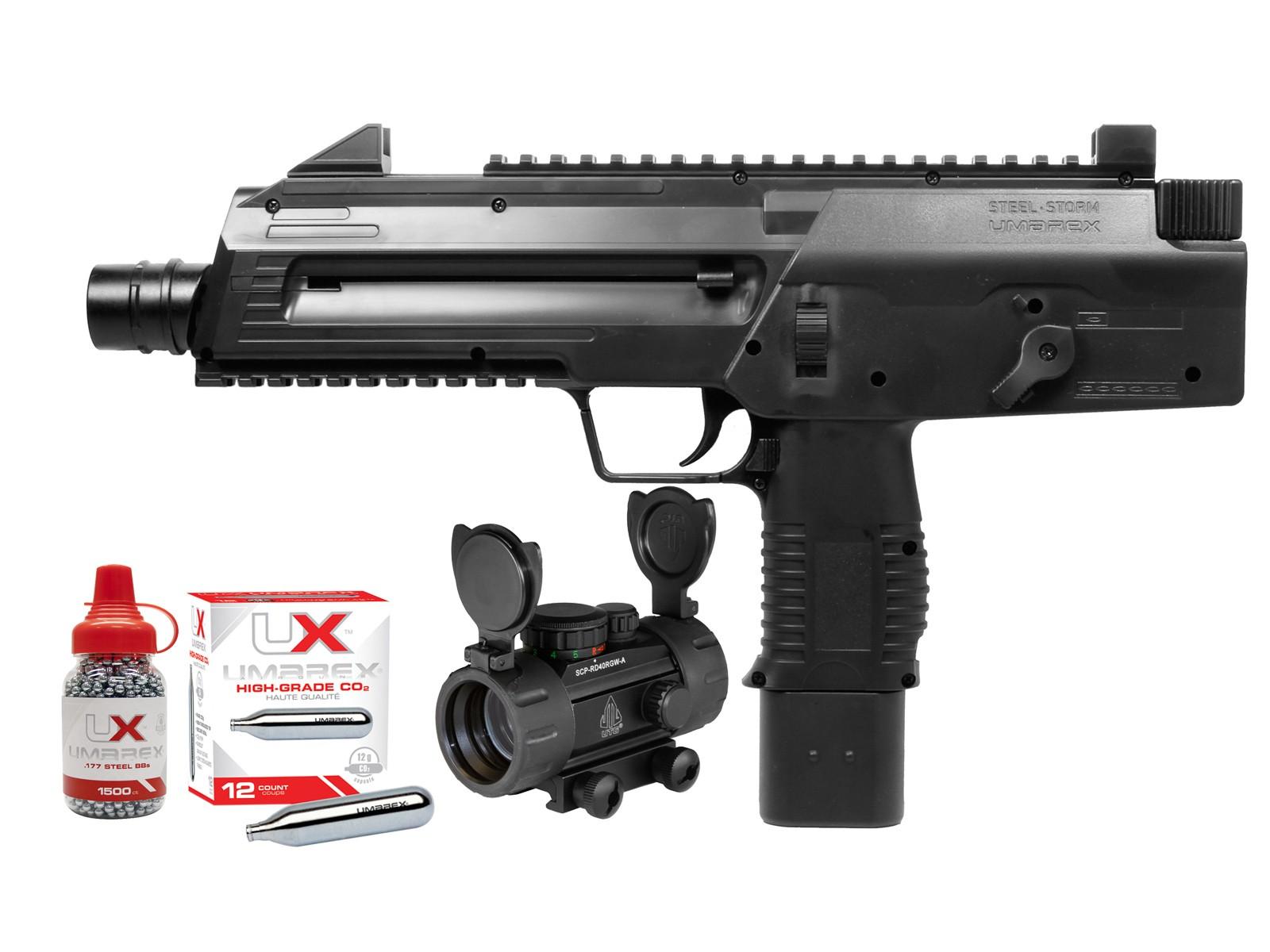 Cheap Umarex Steel Storm CO2 BB Gun Kit 0.177