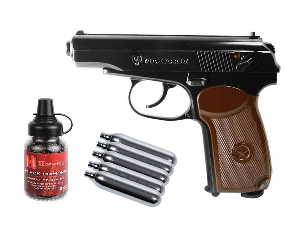 Cheap Makarov CO2 BB Pistol Kit 0.177