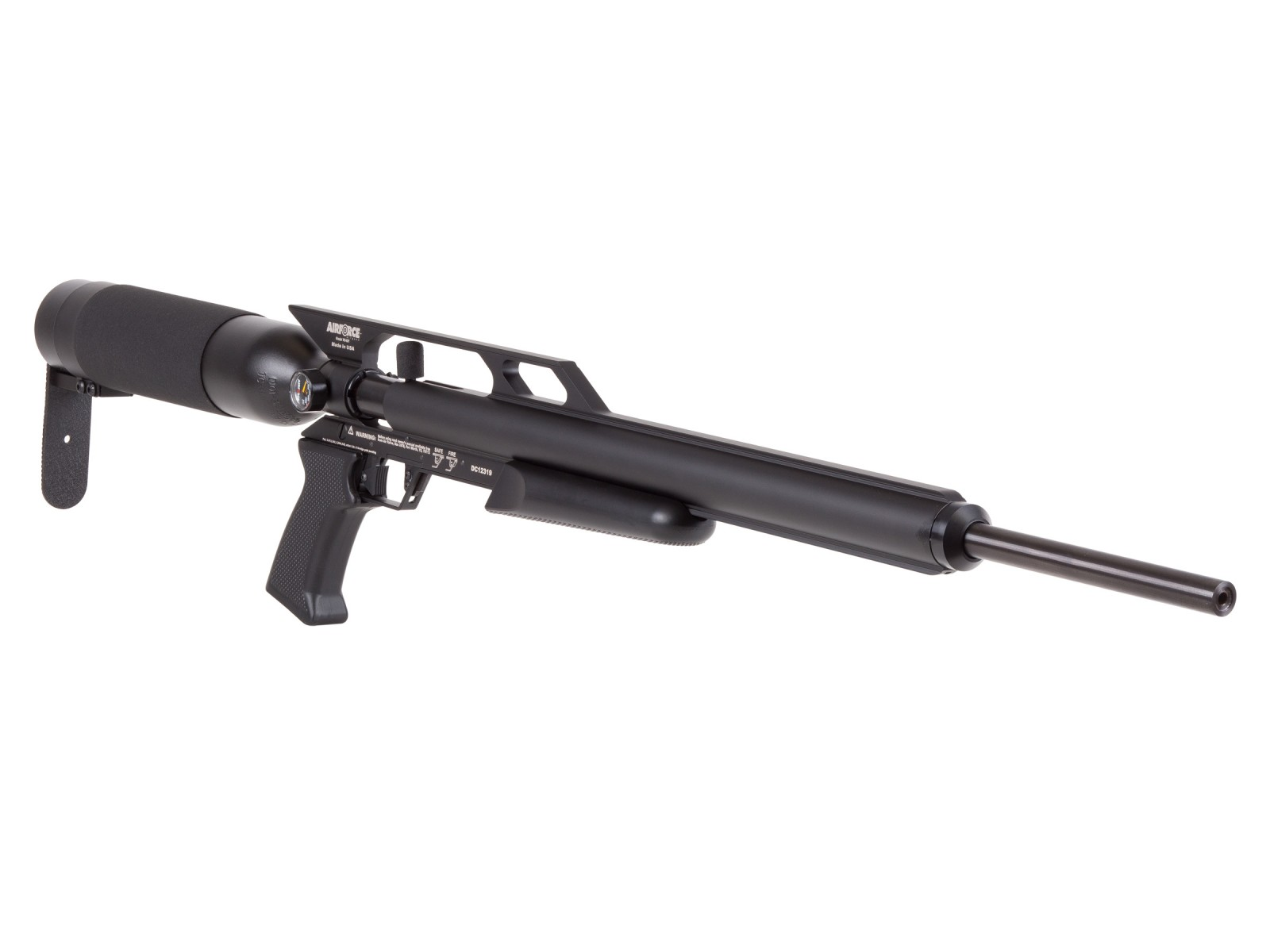 AirForce Condor PCP Air Rifle, Spin-Loc Tank