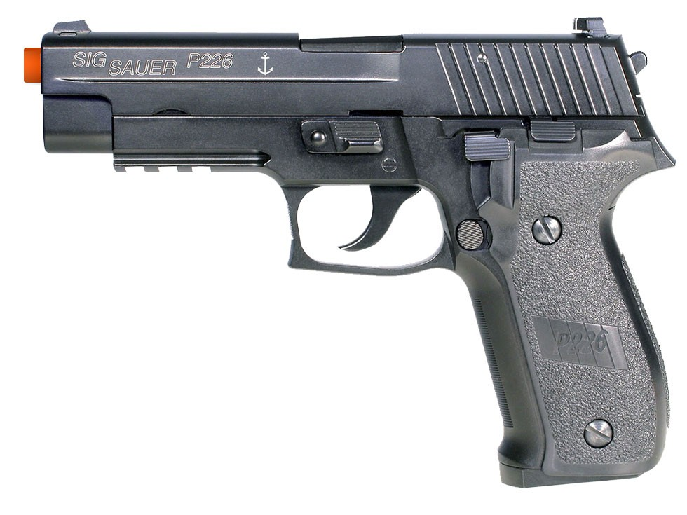 SIG Sauer P226 Navy Full Metal GBB Airsoft Pistol