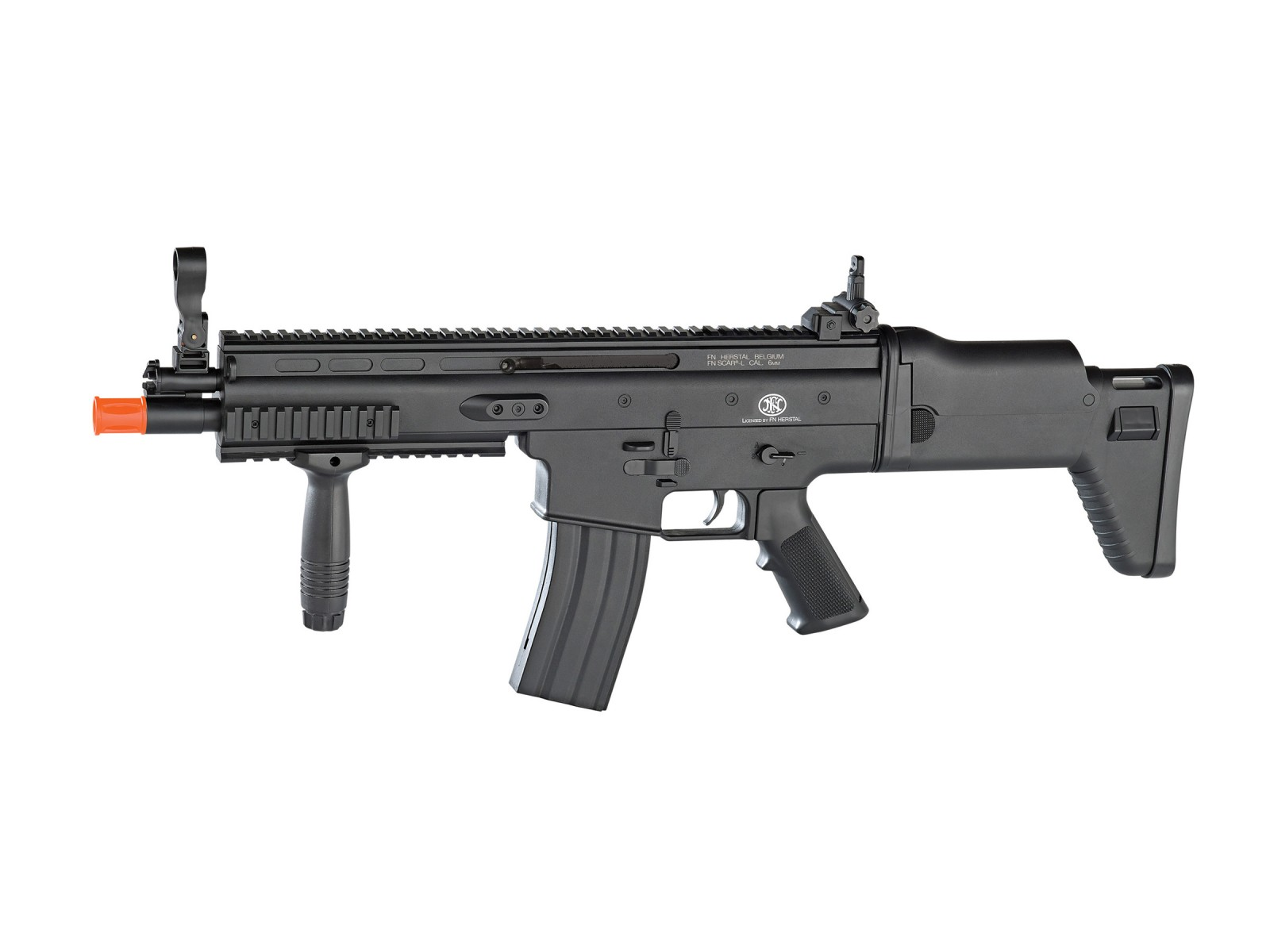 FN_Herstal_SCARL_Spring_Airsoft_Rifle_Black_6mm