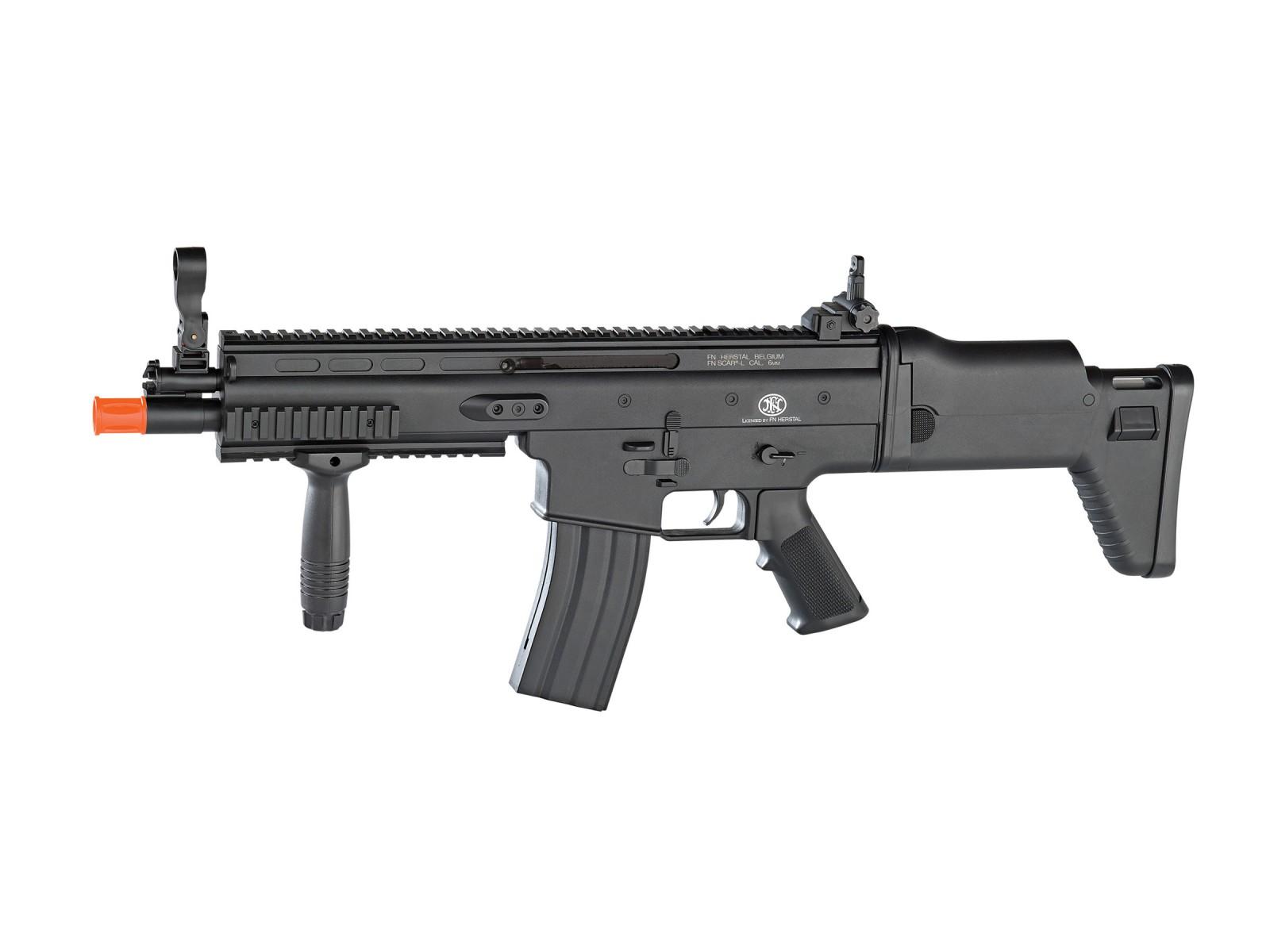 FN Herstal SCAR-L Spring Airsoft Rifle, Black 6mm