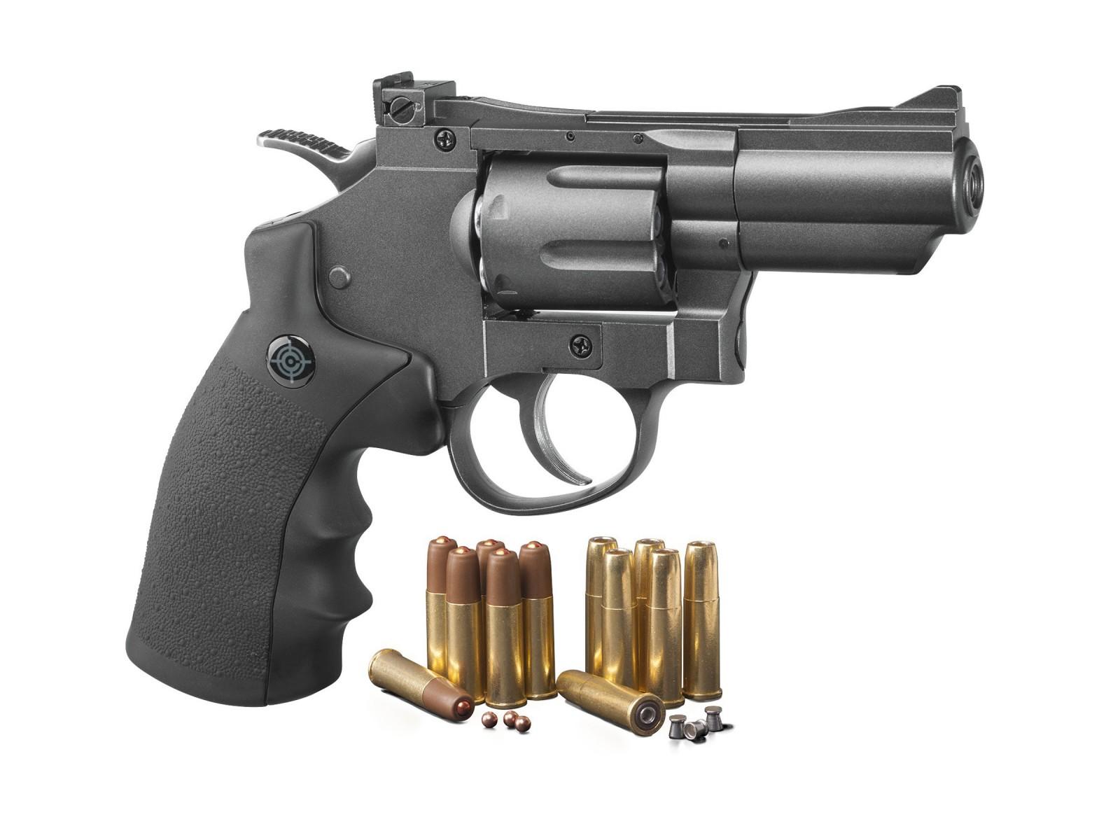 Crosman SNR357 CO2 Dual Ammo Full Metal Revolver 0.177 Image