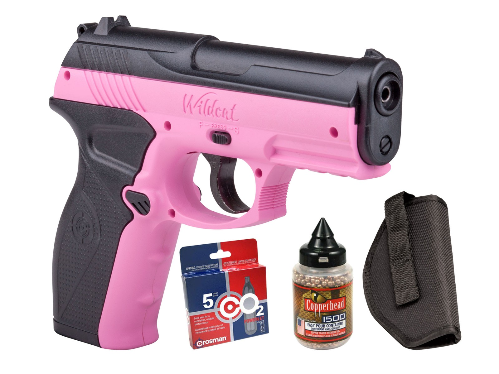 Crosman Wildcat CO2 Pistol BB Kit 0.177 Image