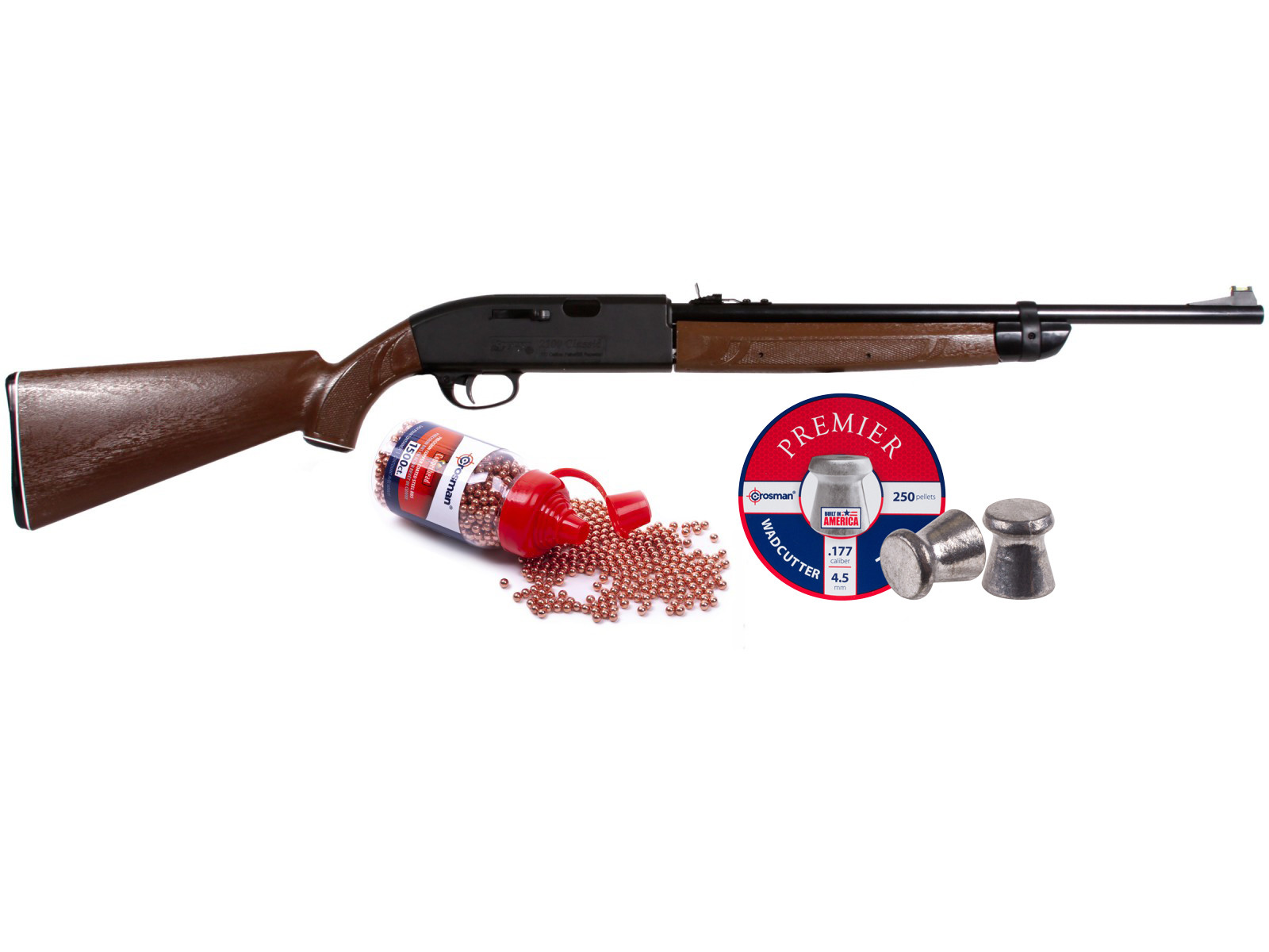 Crosman 2100B Classic Air Rifle Kit 0.177